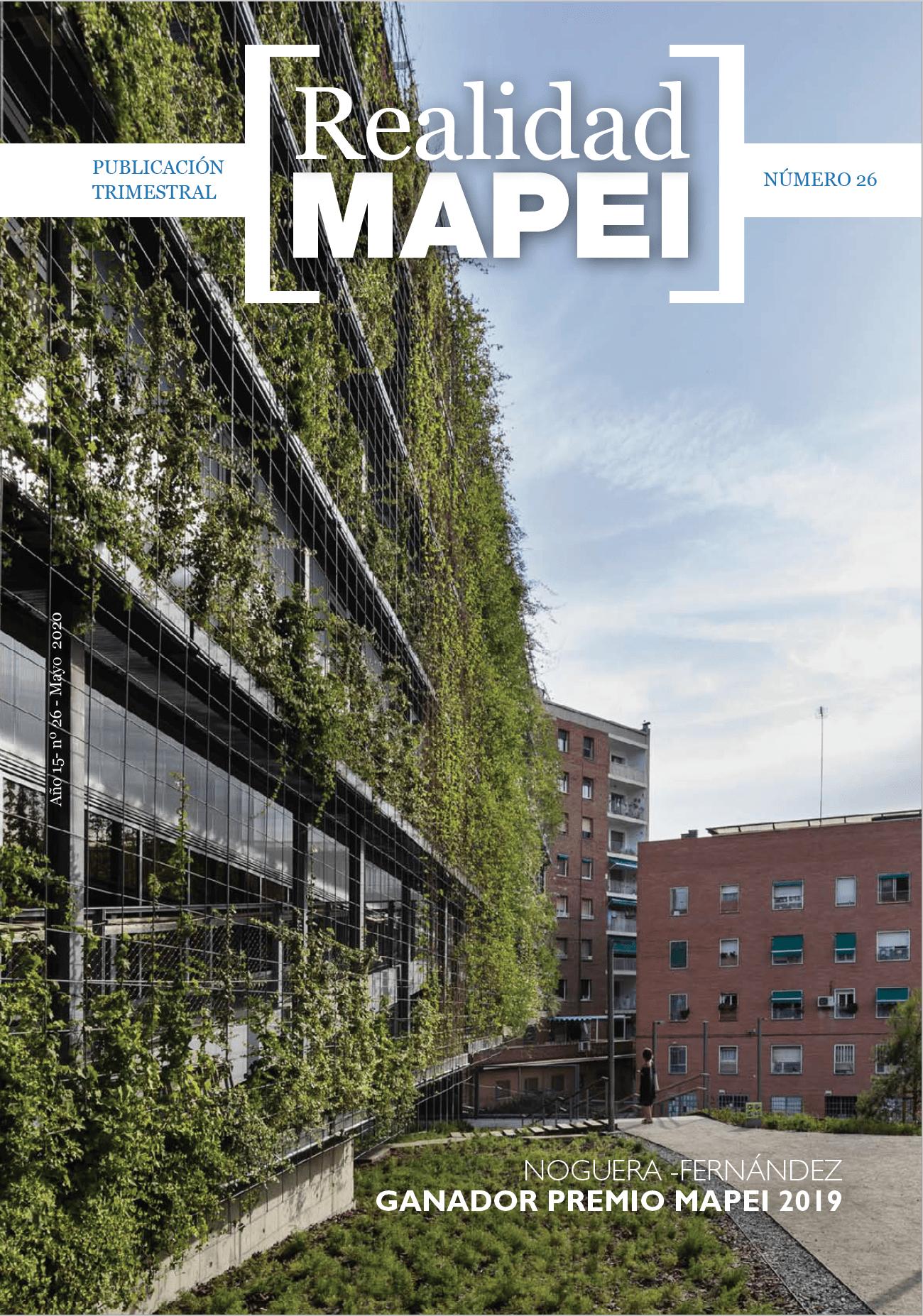 Publicado el número 26 de la revista Realidad Mapei especial sobre el Premio Mapei 2019