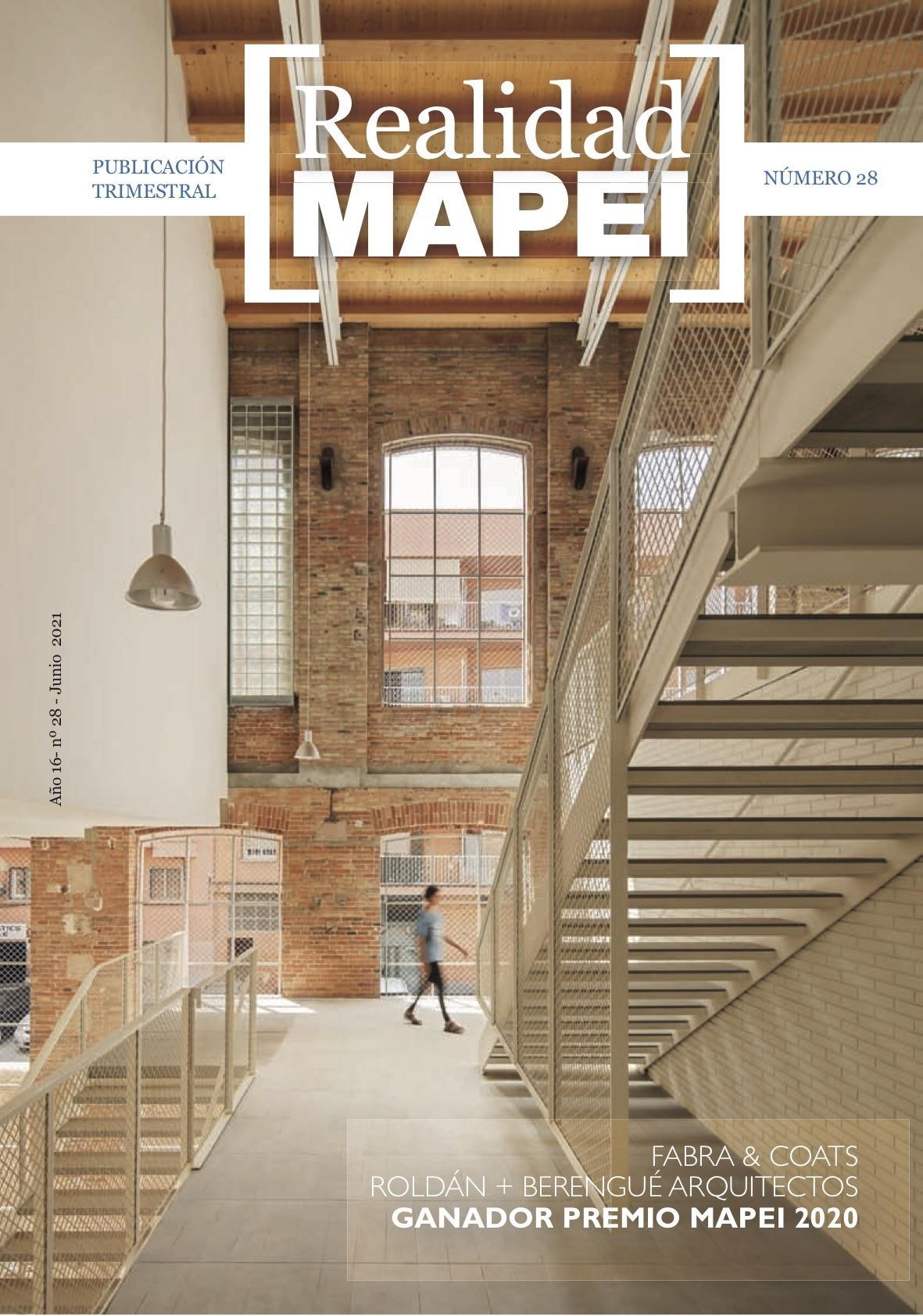 Publicada Realidad Mapei 28 especial Premio Mapei 2020