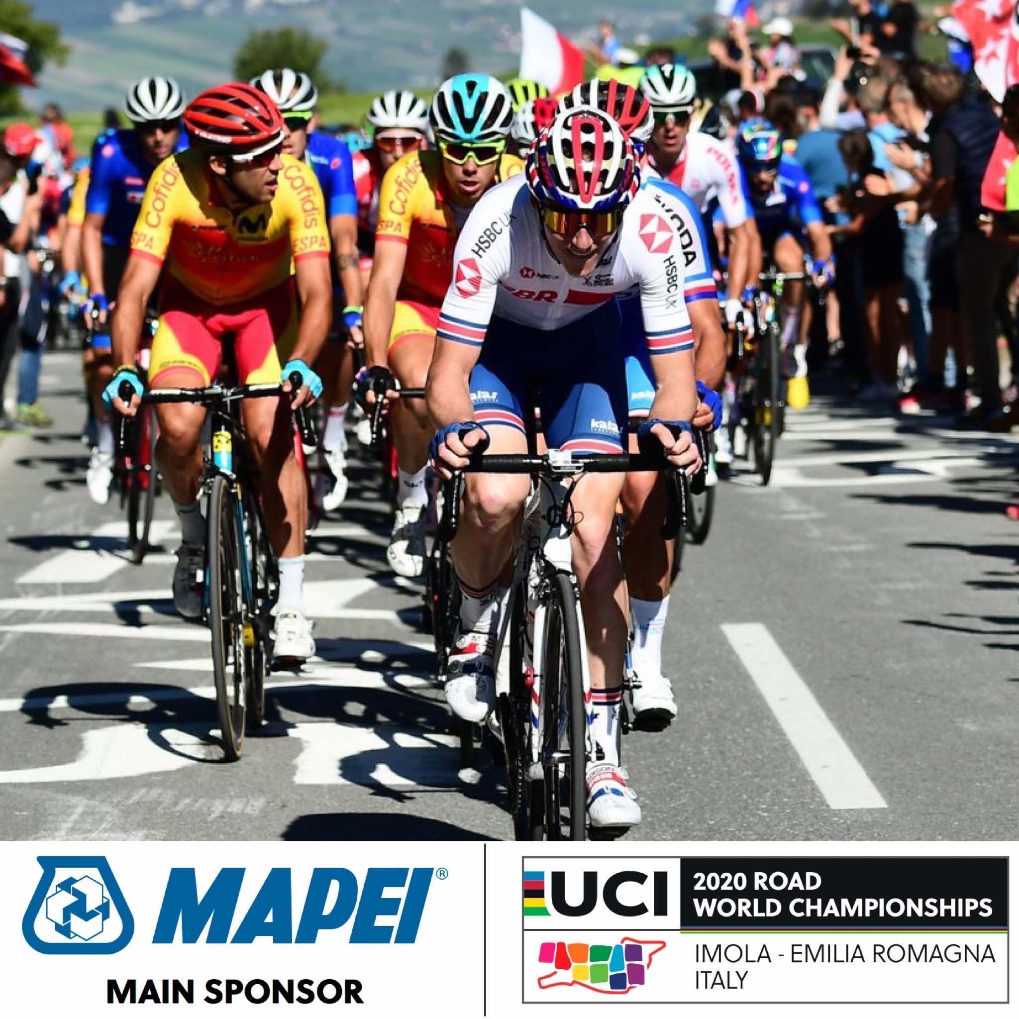 Mapei patrocina el Campeonato del Mundo en Ruta UCI 2020