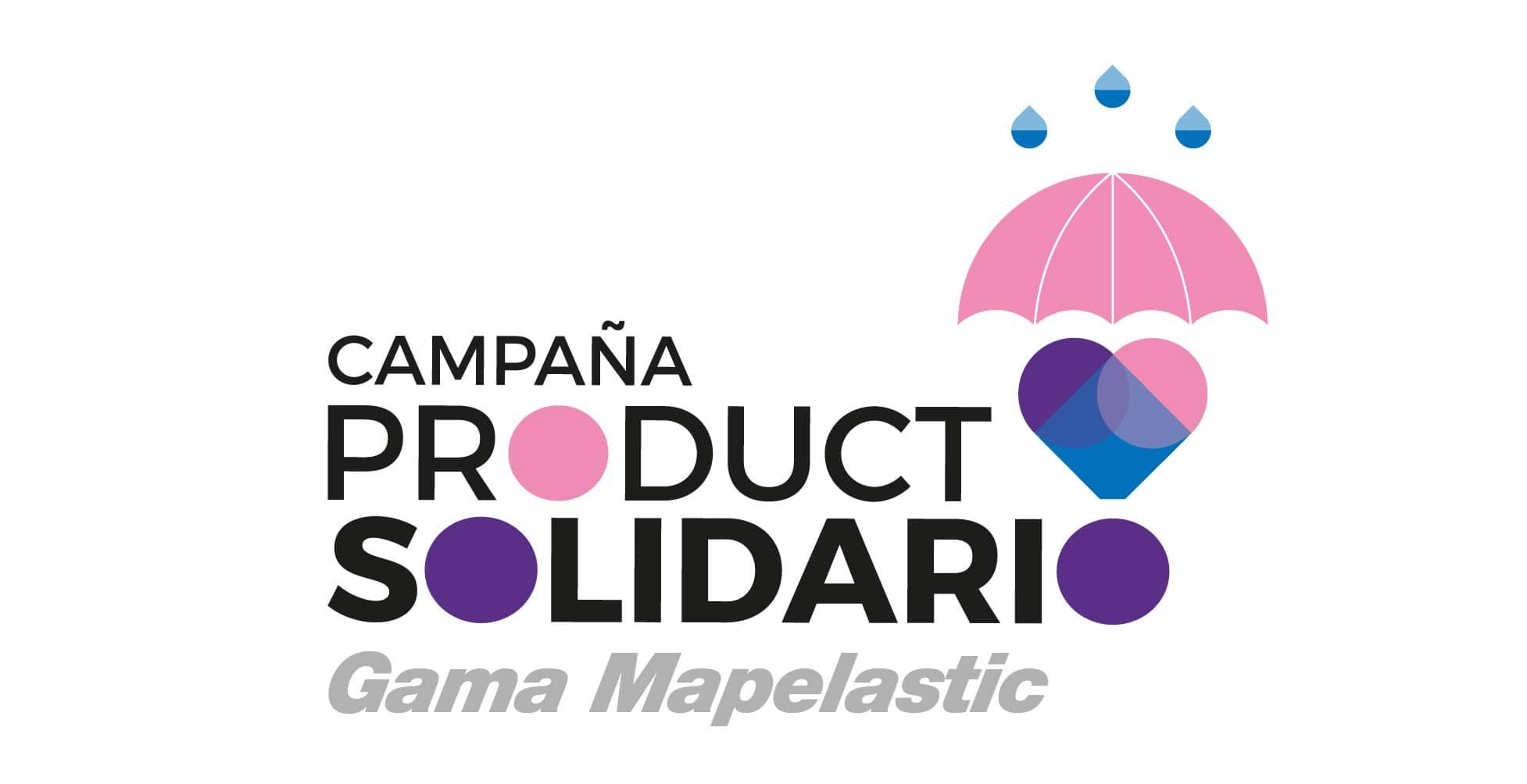 La gama Mapelastic, protagonista de la II campaña Producto Solidario de Mapei