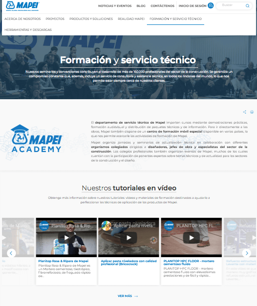 formacion-web-mapei