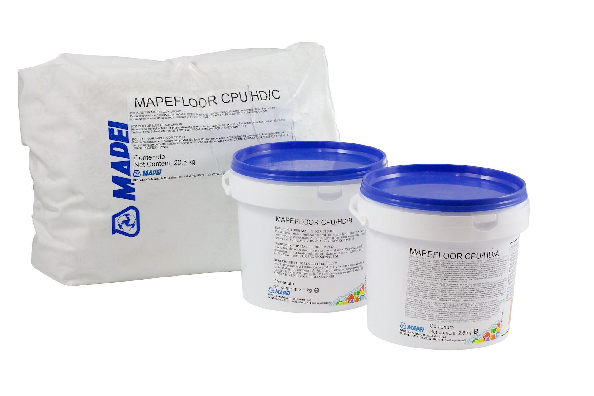 MAPEFLOOR CPU/HD, producto destacado de Mapei en septiembre