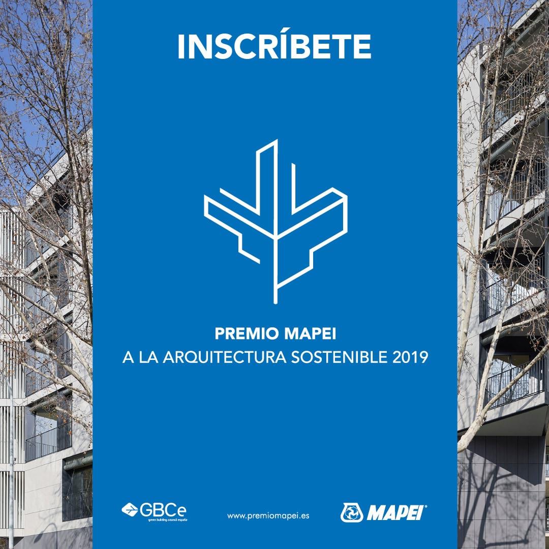 Premio Mapei a la arquitectura sostenible 2019