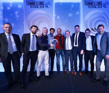 Mapei UTT wins NCE Tunnelling Award for Bank Station