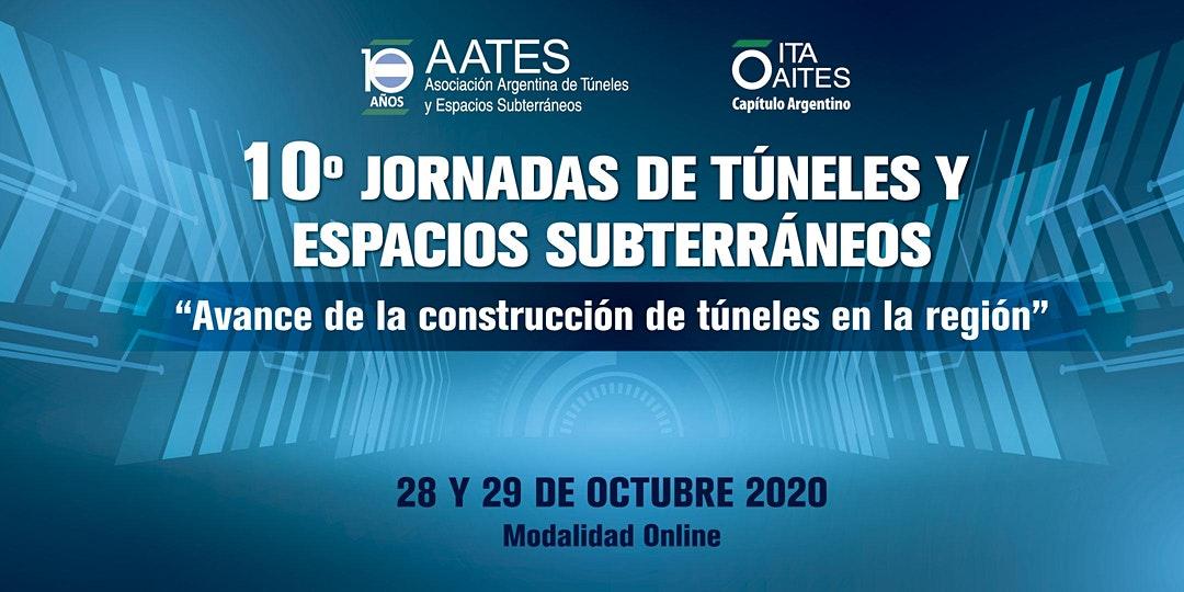 10° Jornada de Túneles y espacios subterráneos