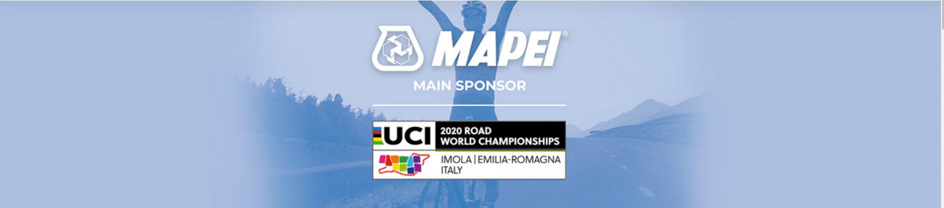 MAPEI - Главный спонсор Чемпионата мира по шоссейным гонкам-2020