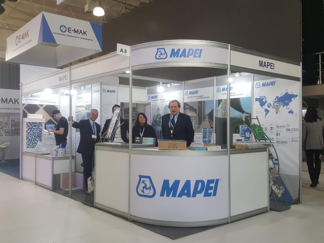 Компания MAPEI приняла участие в юбилейной 20-ой выставке UzBuild 2019