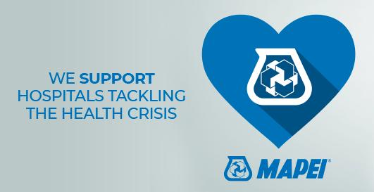 Coronavirus: Mapei is supporting hospitals in their fight against the ongoing health crisis in Italy