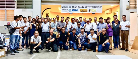 """""""ENHANCE HIGH PRODUCTIVITY SEMINAR"""" BY MAPEI AND NUTECH"""