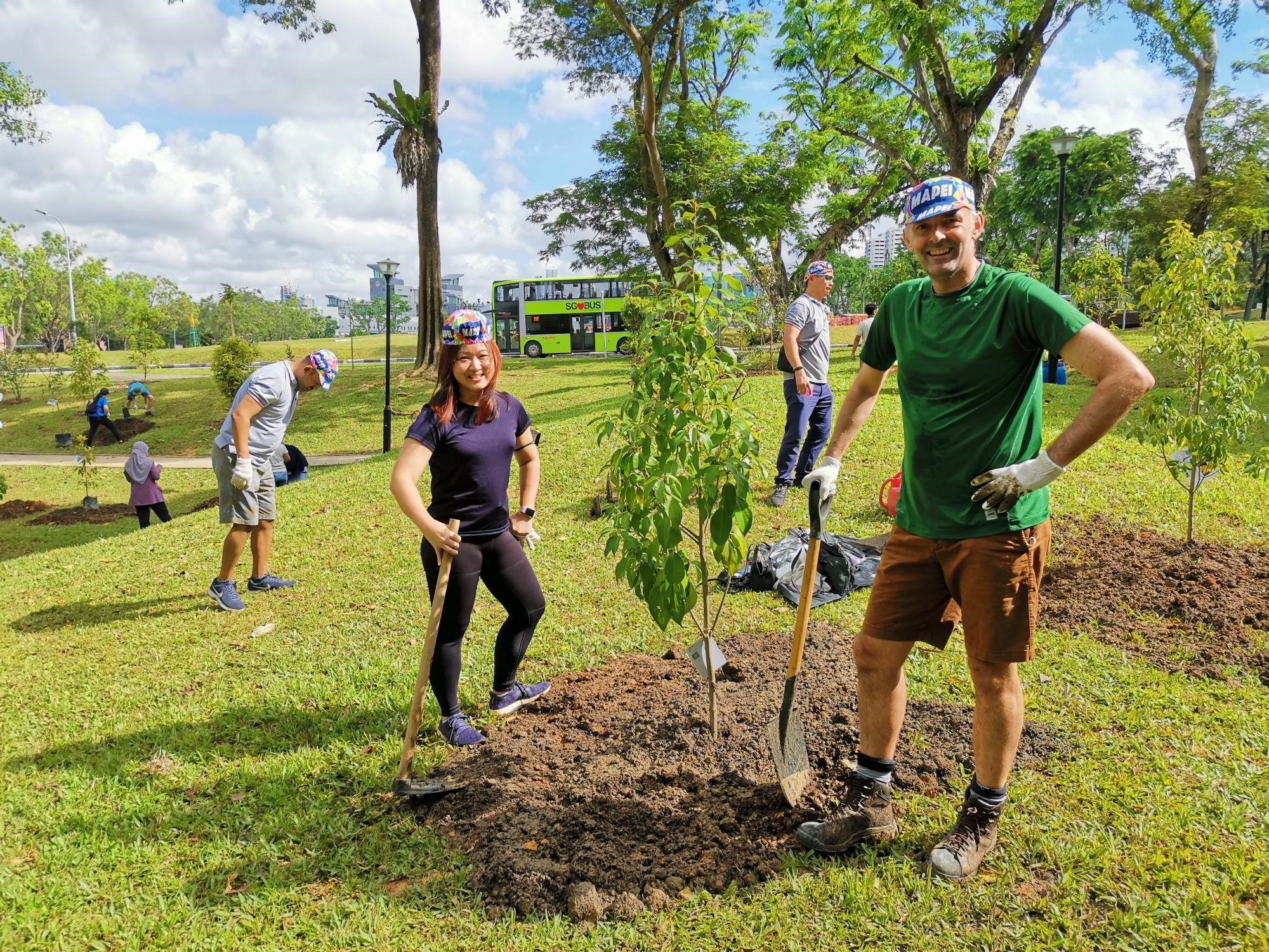 Mapei Singapore supports the OneMillionTrees movement