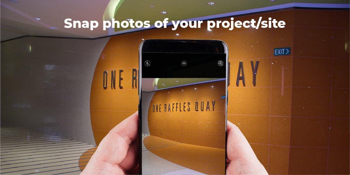 Snap photo