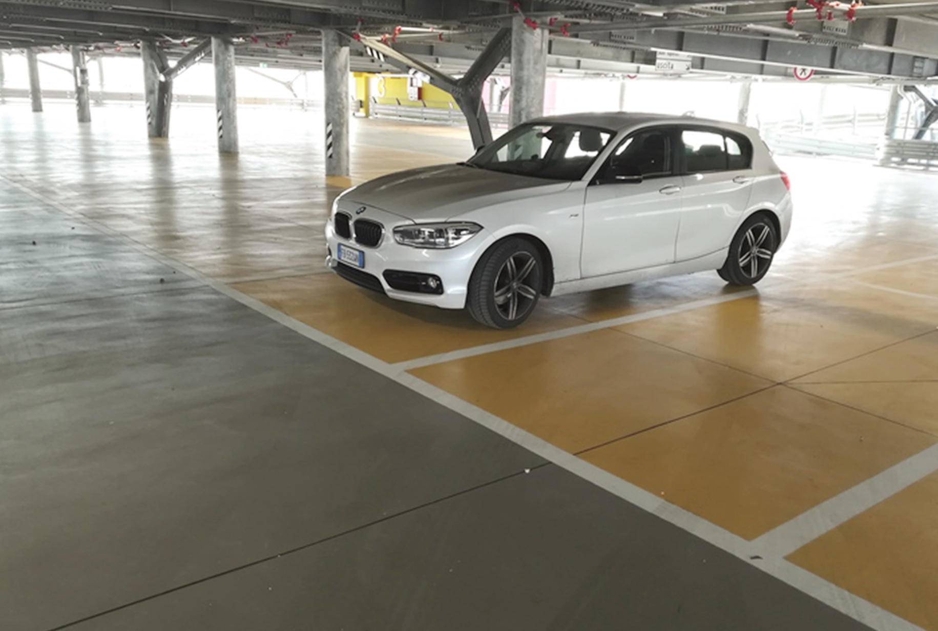 Car park floor coatings