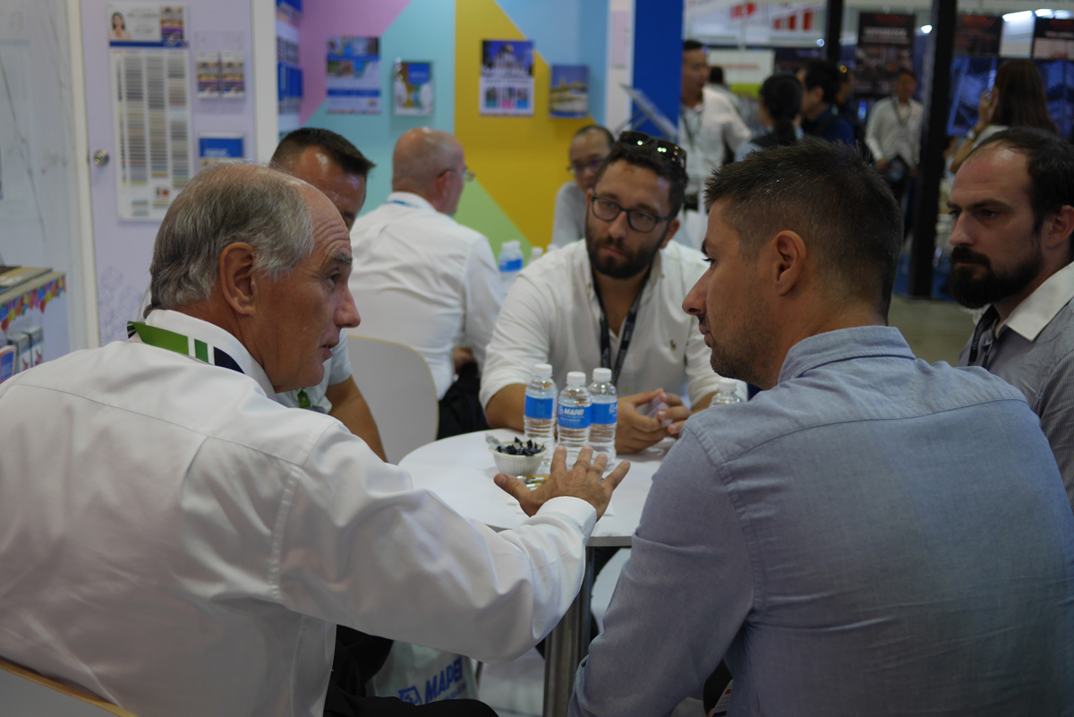 Mapei at BEX Asia 2019