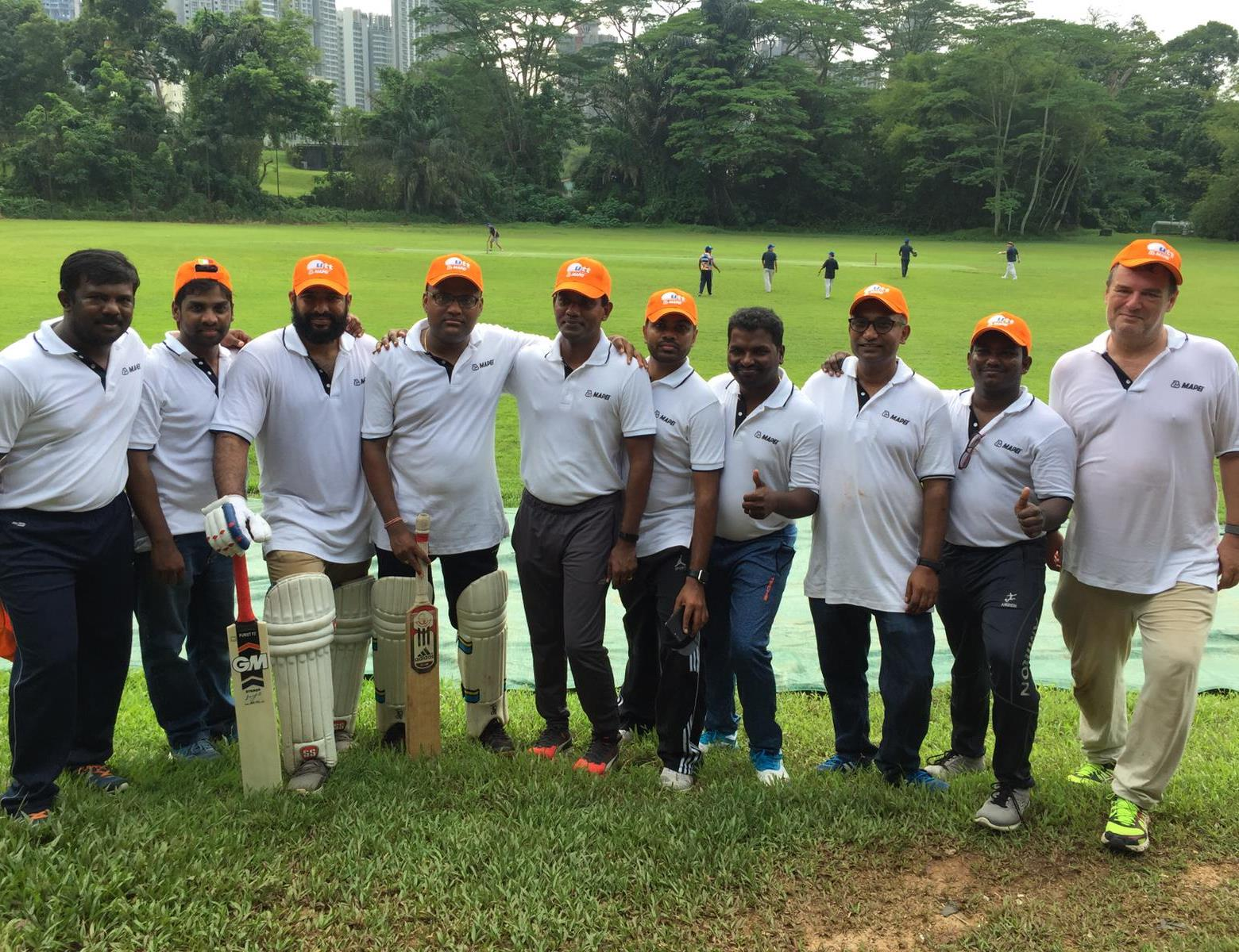 UTT Cricket Match_Orange team