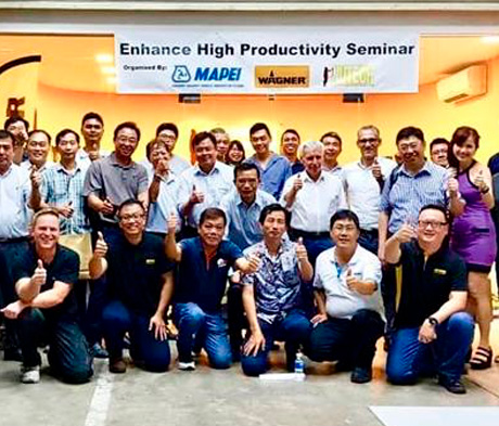 """ENHANCE HIGH PRODUCTIVITY SEMINAR"" BY MAPEI AND NUTECH"