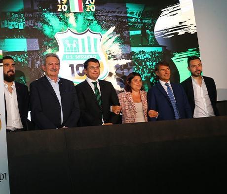 Futbalový klub Sassuolo oslavuje 100 rokov