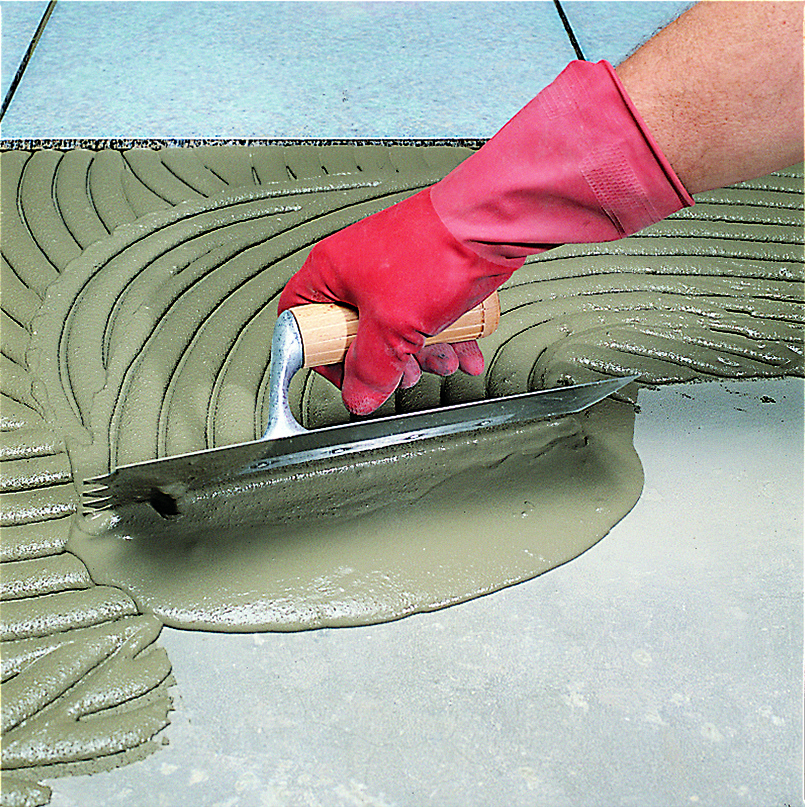 New Fast-setting Tile Adhesive and Smoothing Compound