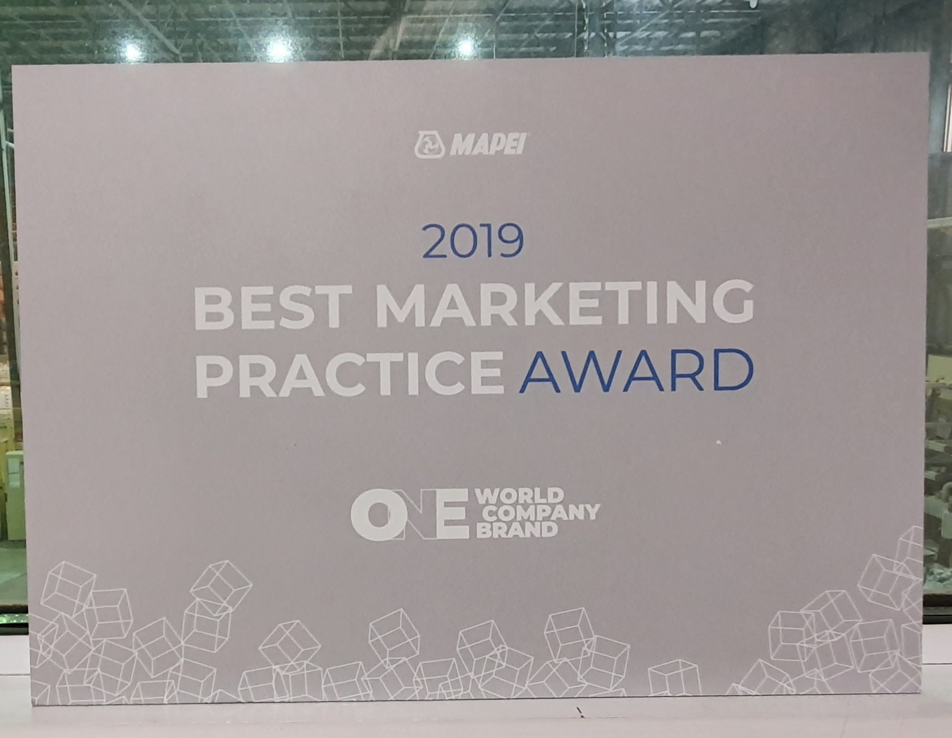 Best Marketing Practice Award