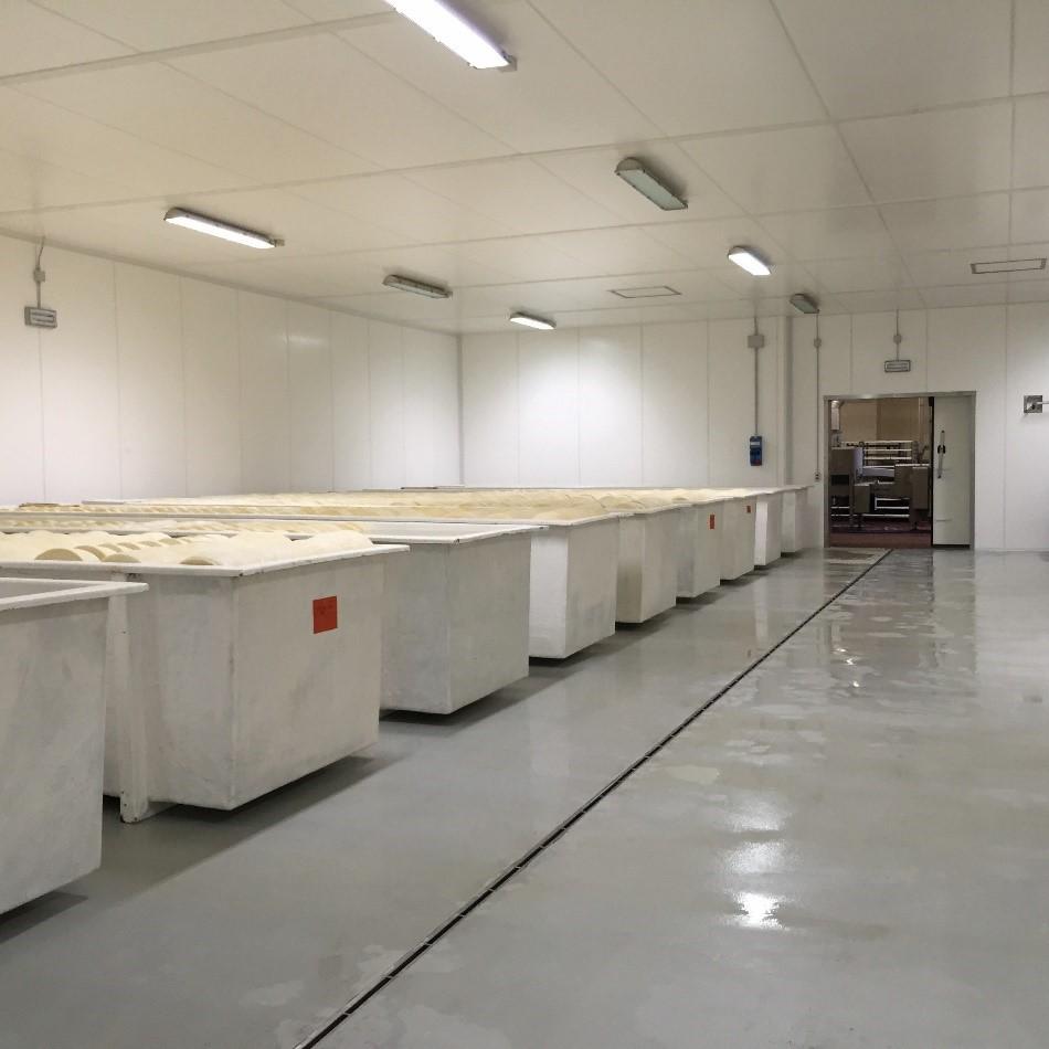 Dairy Processing Plant Mapefloor CPU MF