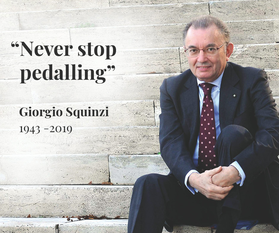 MAPEI mourns the passing of Giorgio Squinzi