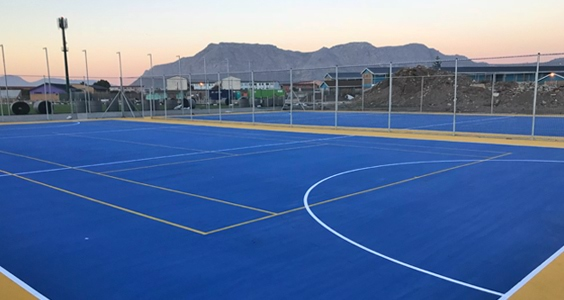 World class tennis courts for Lavender Hills