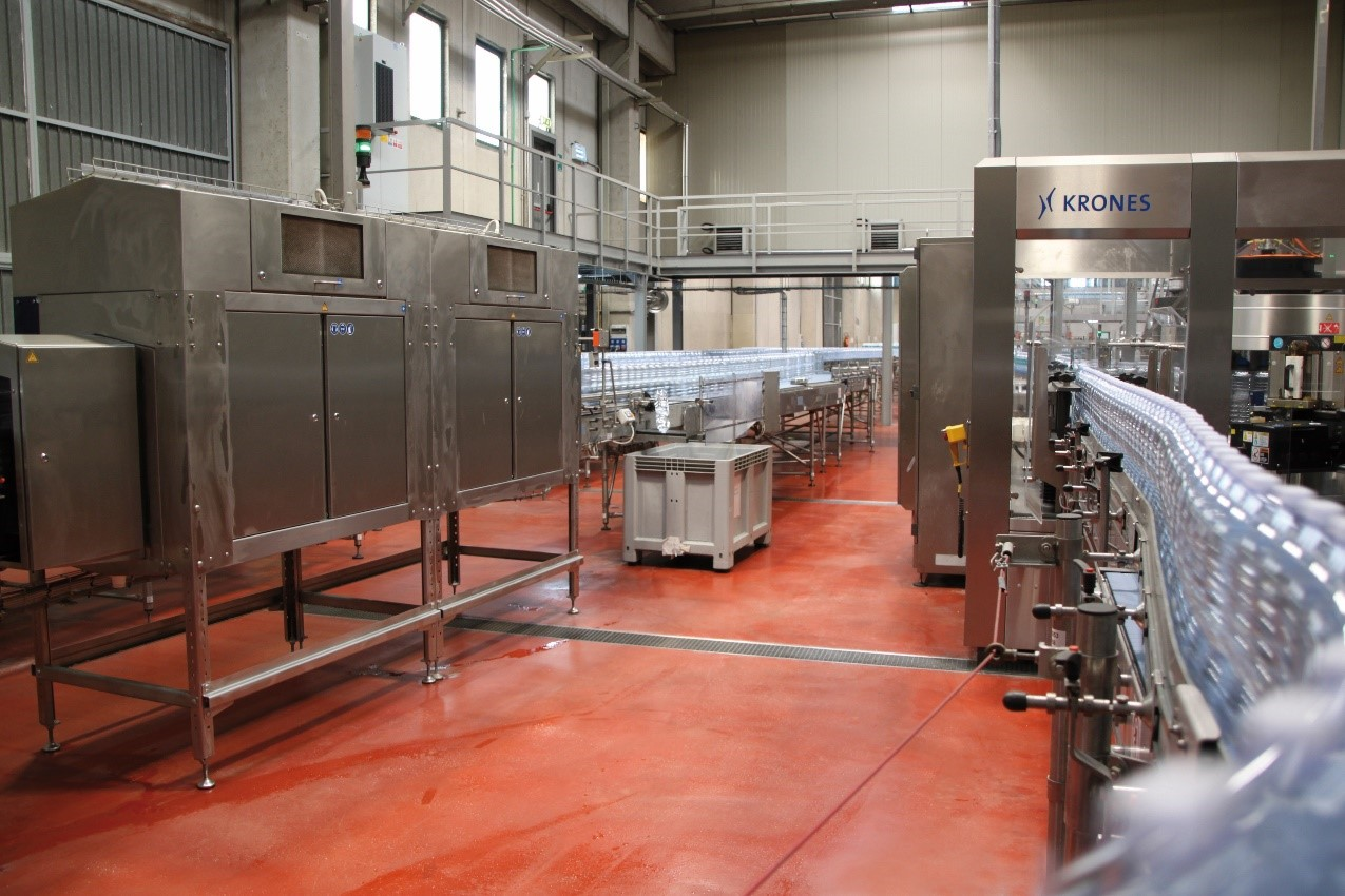 Mineral water bottling plant - Mapefloor CPU HD