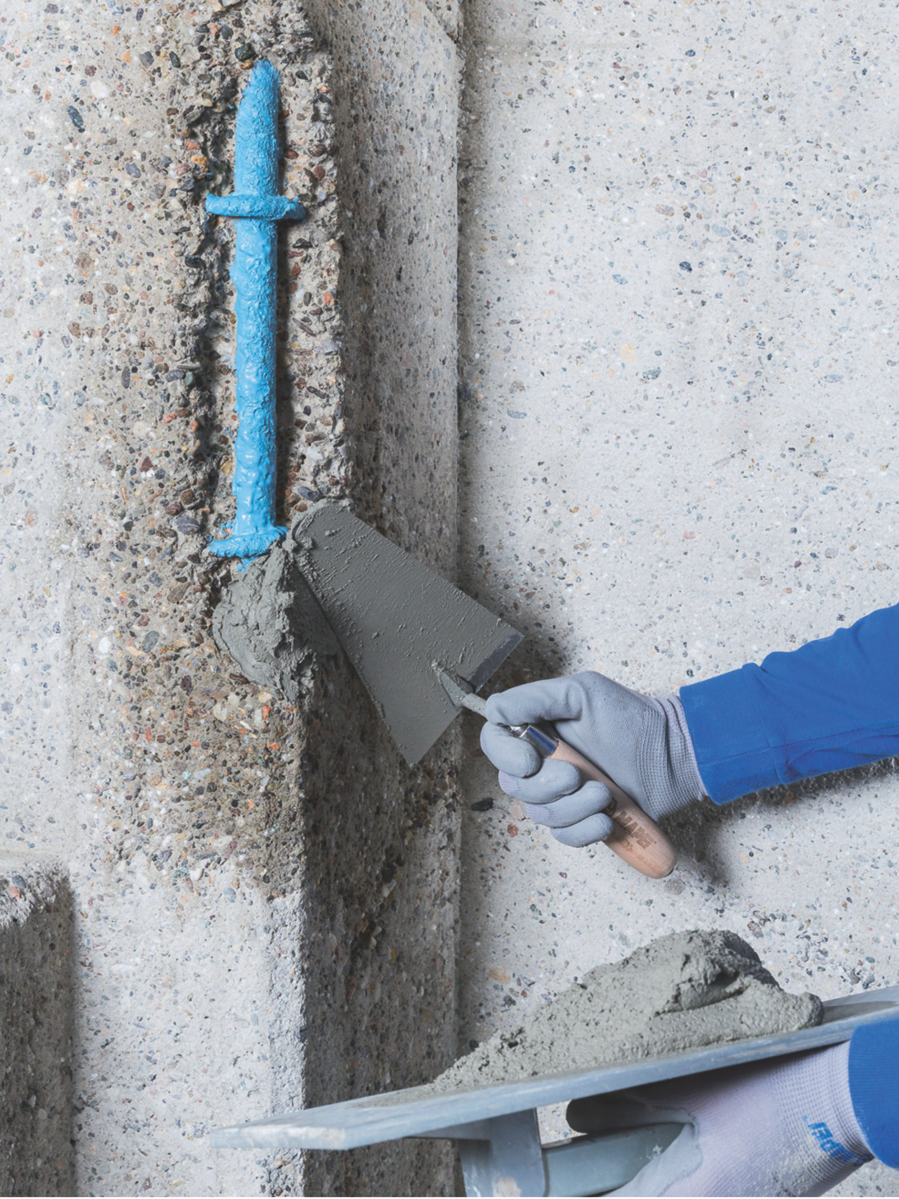Structural Repairs with MAPEI's Concrete Repair Mortar