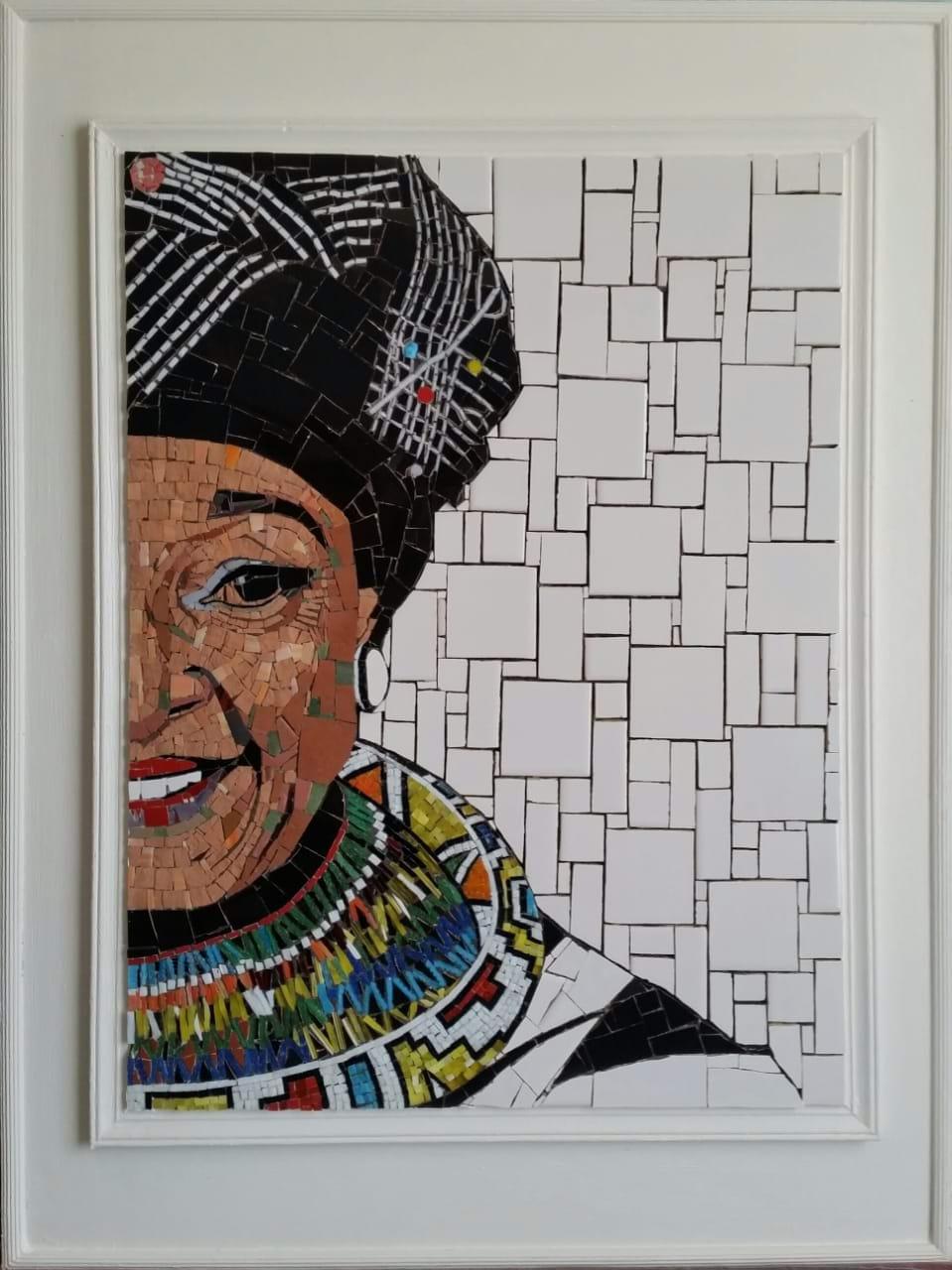 Winnie Mandela Mosaic