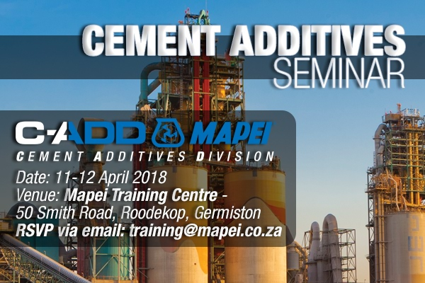 Cement Additives (C-ADD) Seminar