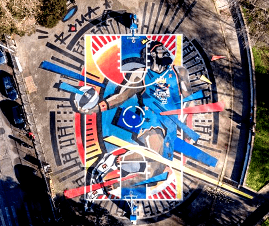Mapei is Red Bull's technical partner for the Red Bull HALF COURT 2021 world final in Rome