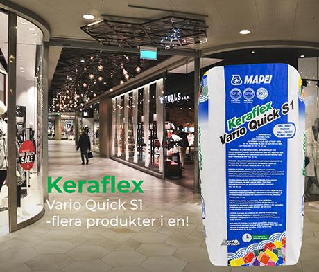 Keraflex Vario Quick S1 - Tre produkter i en!