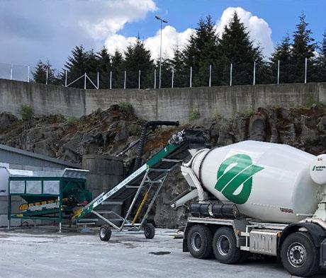Innovativa lösningar för hållbar betongtillverkning