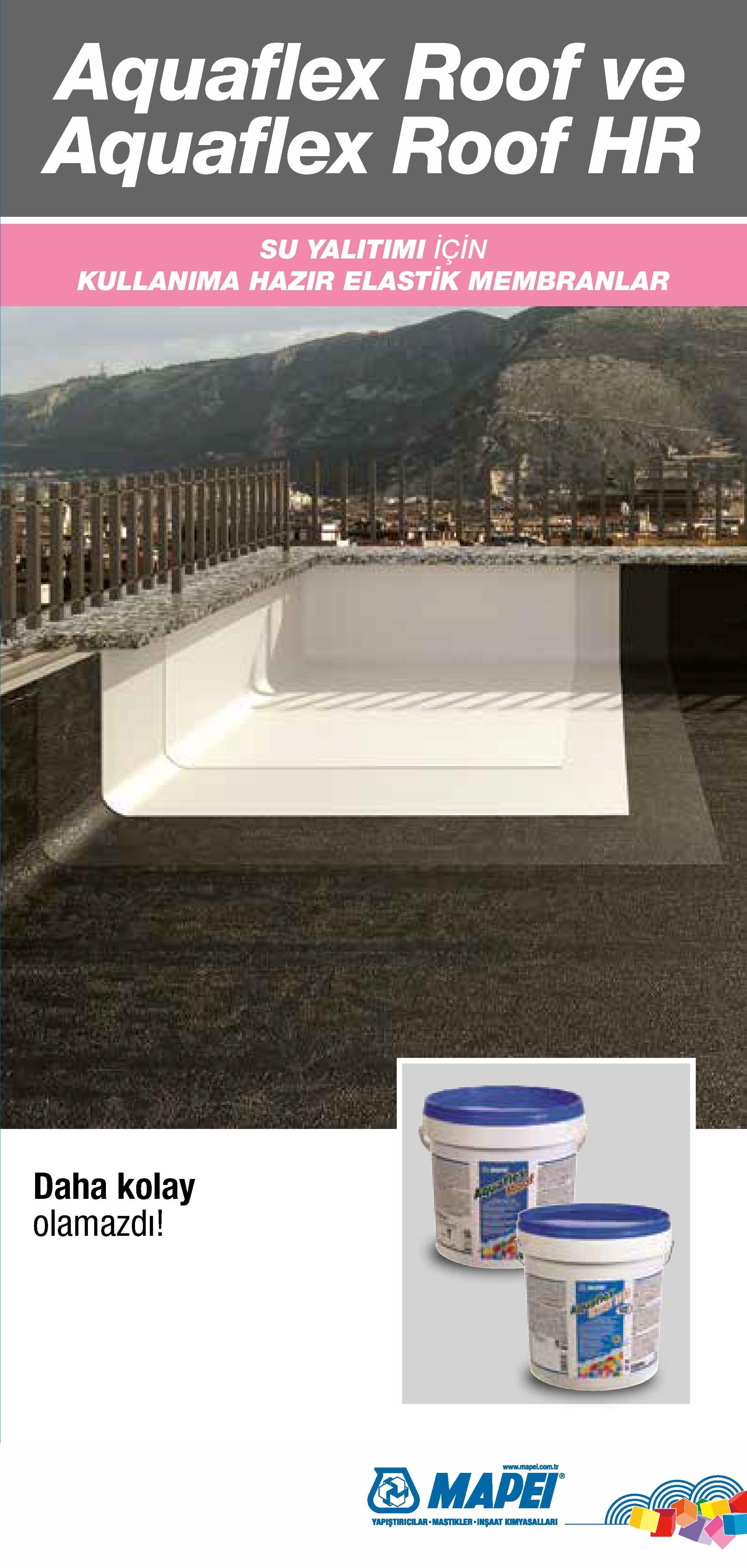 Aquaflex Roof & Aquaflex Roof HR