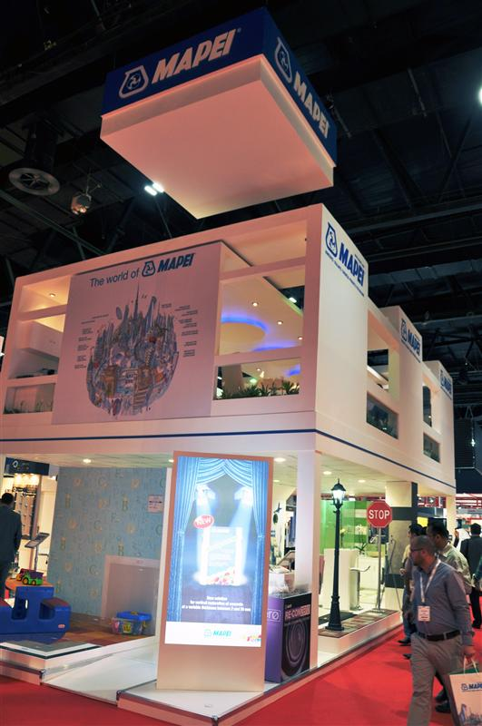 MAPEI launches two new products at Big 5 Show 2013