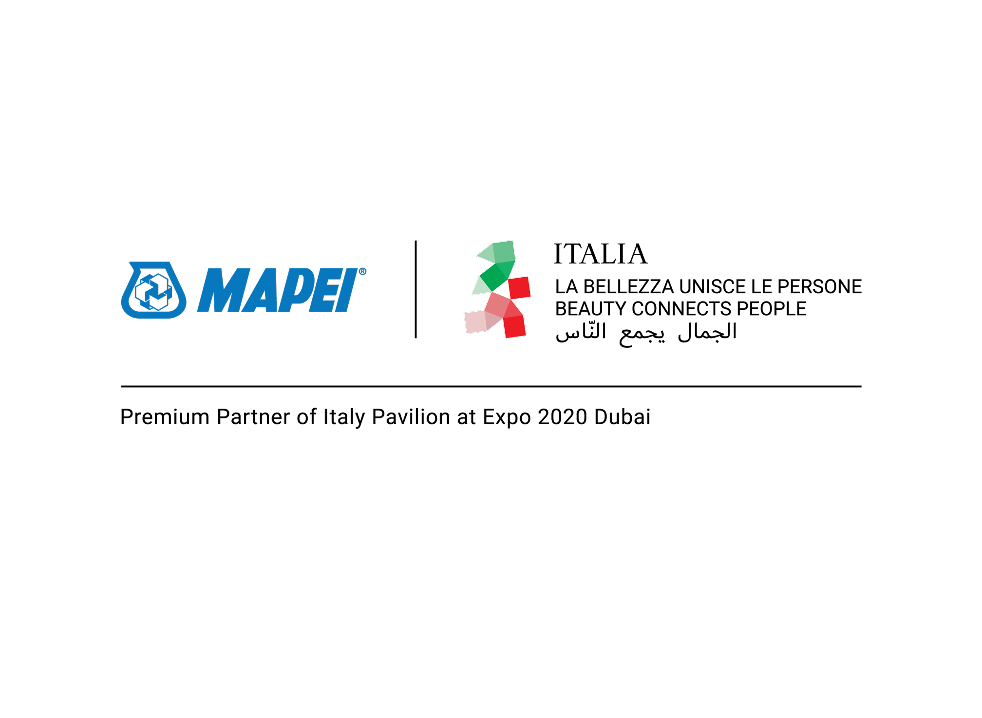 Mapei, Premium Partner of Italy Pavilion at EXPO 2020