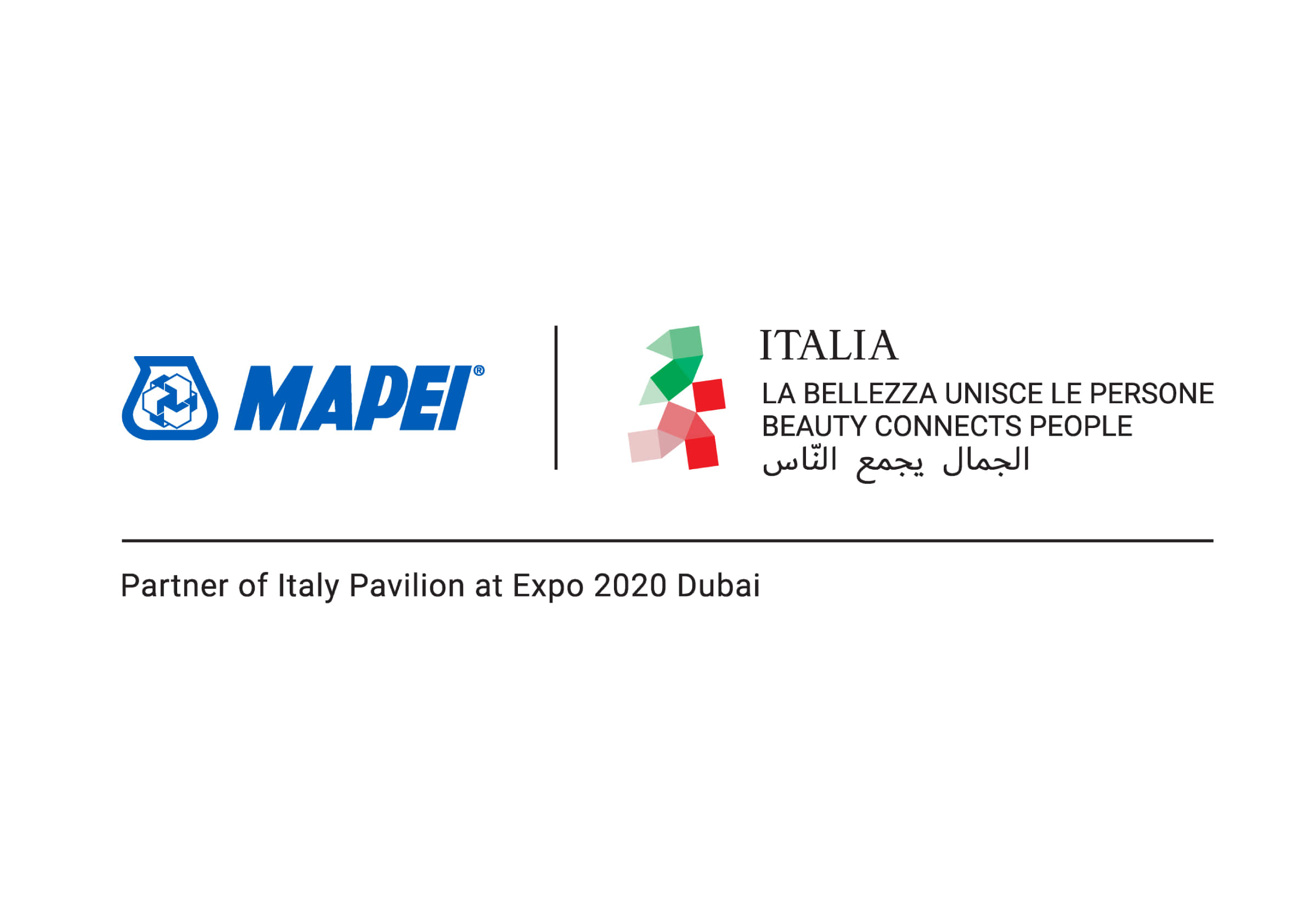 Mapei, Partner of Italy Pavilion at EXPO 2020