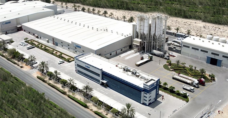 Mapei factory at Dubai Investment Park