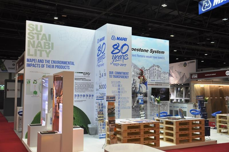 MAPEI showcases complete and economical stone installation solution at the Middle East Stone Exhibition