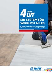 4 LVT – Systemprodukte für Designbeläge