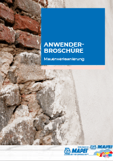 Anwenderbroschüre – Mauerwerksanierung