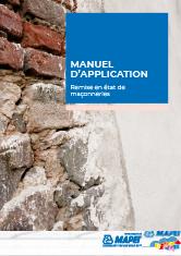 Manuel d'application – Remise en état de maçonneries