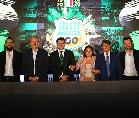 Der italienische Fussballclub Sassuolo Calcio wird 100