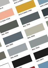 Mapefloor Comfort fargekart