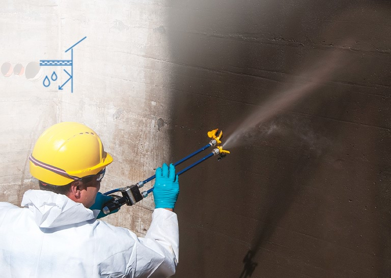 Ekstremnedbør – vanntetting under bakken