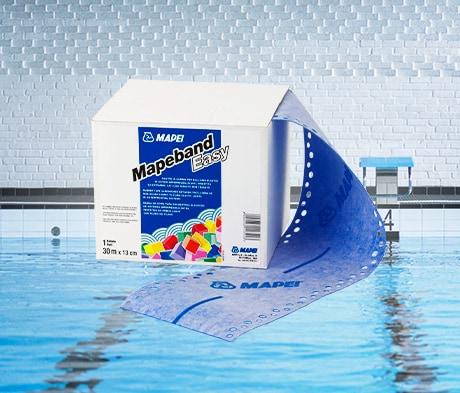 Enklere å legge membran i bassenger