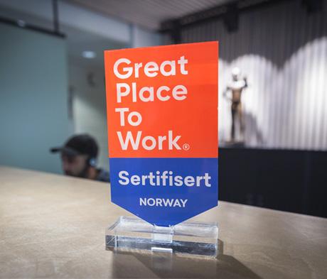 Et godt sted å jobbe