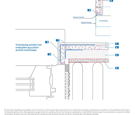 Mapetherm Nordic Flex, med tekniske tegninger i både DWG- og PDF-format