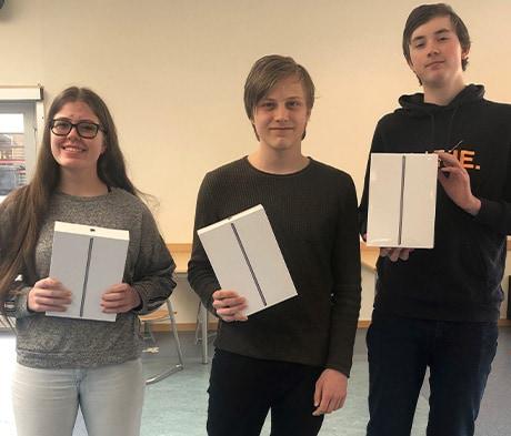 Eidskog Ungdomsskole vant Matteknekkern 2021