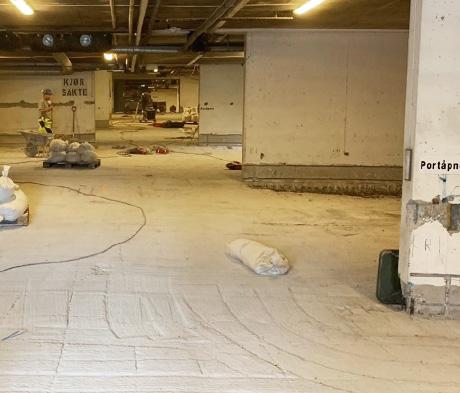 Parkeringshus – hvordan rehabilitere betong