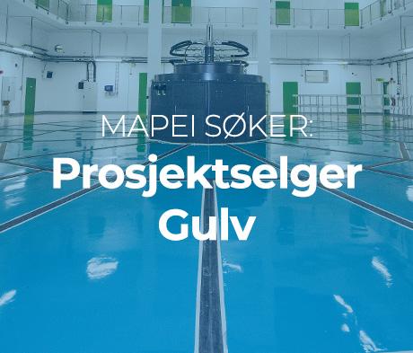 Vi søker Prosjektselger Gulv